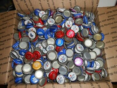 BEER BOTTLE  CAPS  1500+  ASSORTED BRANDS 7lbs  FREE SHIPPING