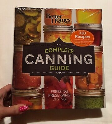 Better Homes and Gardens Complete Canning Guide Brand New Shrink Wrapped