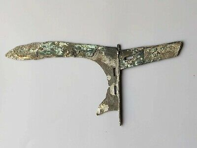 China Ancient Warring States Period War Soldier Bronze Weapon Dagger-axe Sword 1
