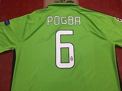 new arrivals 72b43 a1313 NIKE 2 STAR France World Cup Paul Pogba Home Soccer Jersey ...