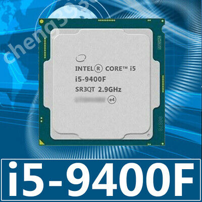 Intel Core i5-9400F LGA 1151 2.9 GHz (4.1 Turbo), 6-Core, 65W CPU Processor