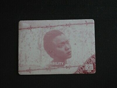 2017 Topps The Walking Dead Plausible Deniability Printing Plate #1/1