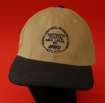 AFL-CIO American Postal Workers Union Southwest Coastal Local 917 Union Made Cap