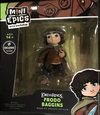 Lord of The Rings Frodo Baggins Mini Epics Figure - (Weta Workshop Loot Crate E