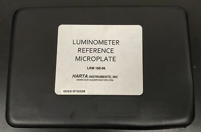 Harta Instuments NIST traceable Luminometer Reference Microplate m1
