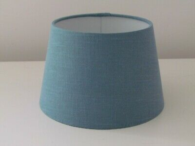Small Empire Teal Tapered Lampshade Teal 100% Linen Choice of Colours