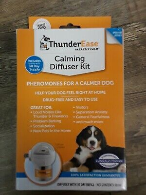 ThunderEase Calming Diffuser Kit for Dogs 30 Day Supply  #4173