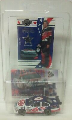 David Ragan Autograph Rookie AAA 1/64 #6 Diecast Ford 2007 Nascar RaceUsed Shoe