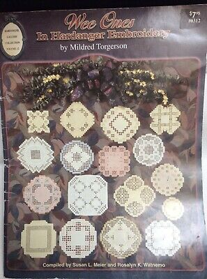 Wee Ones in Hardanger Embroidery Mildred Torgerson Pattern Booklet
