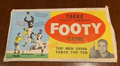 Tarax Polly Farmer Footy Game C 1960's
