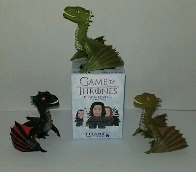 Titans Game of Thrones Young Viserion + Drogon + Rhaegal Chase - Seven Kingdoms