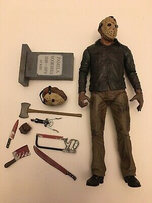 ULTIMATE JASON VOORHEES NECA Friday The 13th PART 4 FINAL CHAPTER Loose Complete