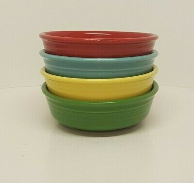 Fiestaware Mixed Color Small Bowl Lot of 4 Fiesta Small Cereal Bowl 4C10M7