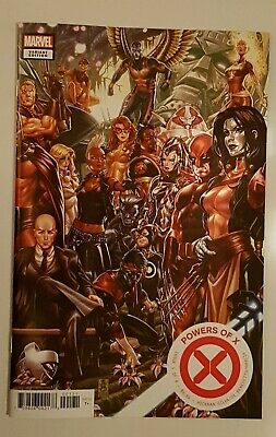 POWERS OF X #1 Mark Brooks Connecting Variant (connects with House of X #1)