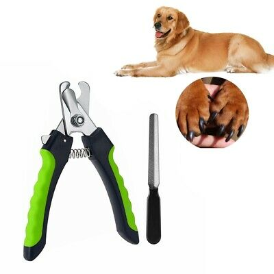 Pet Nail Clippers Nail File Dogs Cats Claw Paw Trimmer Scissor Grooming Too F4L2