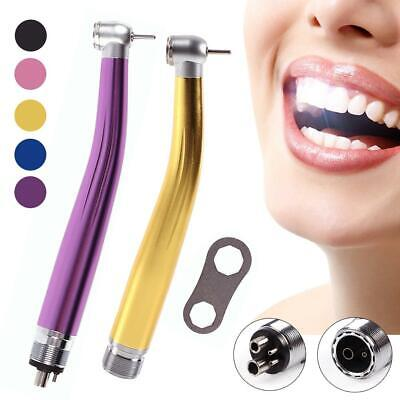 Multi color Dental Max High Speed Handpiece Air Turbine Push Button 2/4H Fit NSK