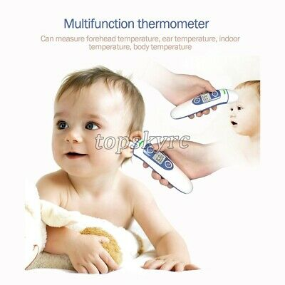 Digital Forehead & Ear Thermometer Adult Baby Infrared Thermometer Backlight tps