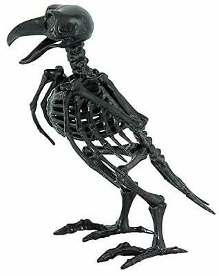 Small Black Raven Crow Bird Prop Skeleton Halloween Party Decoration
