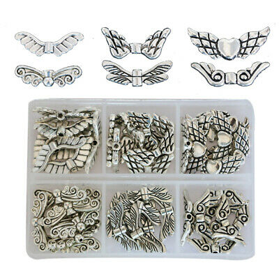 Angel Wing Spacer Beads Tibetans DIY Jewelry Pendants For Jewelry Making AUstock
