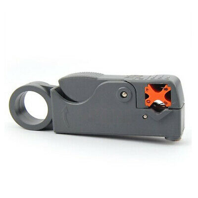 Coaxial Cable Lead Rotary Stripper Cutter RG58 RG6-gray X6F1