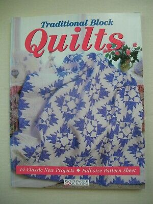 Traditional Block Quilts - Craftworld Books - Quilting Pattern Book