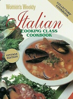 The Australian Women's Weekly AWW  - ITALIAN COOKING CLASS COOKBOOK Womens New