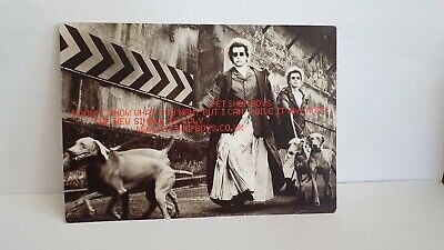 "Brand New Uk Promo Post Card Of The Pet Shop Boys ""I Dont Know What You Want"""