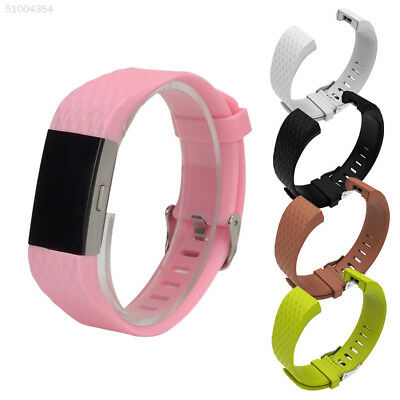 3C77 Luxe Band Replacement Wristband Watch Strap Bracelet For Fitbit Charge 2