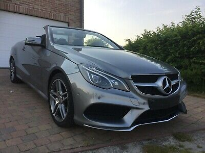 Mercedes Classe E200 Cabriolet/an 2014/29000km/Full pack AMG/état neuf!!!!