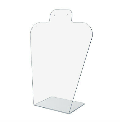 Slantback Earring and Necklace Holder Display Jewelry Stand Acrylic