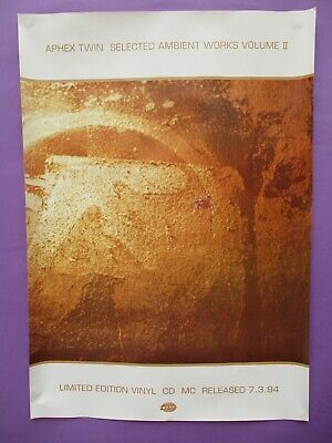 APHEX TWIN WINDOW Licker Umbrella Bleep Warp Brand New