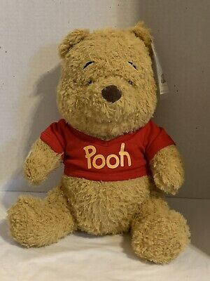 Build a Bear Winnie the Pooh with 6 in 1 sound chip and Red Pooh T-Shirt