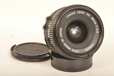 Canon 2,8 x 28 mm FD Weitwinkel Objektiv / Wide Screen Lens II