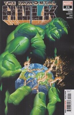 Immortal Hulk #24 Ross Ewing Marvel Comics 10/2/2019 Eb77