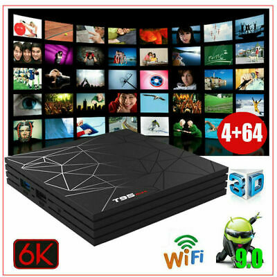 T95 MAX 4GB RAM+64GB ROM Android 9.0 Smart TV Box HD 6K Media Player WIFI IPTV