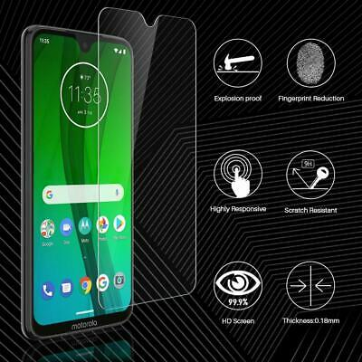 Tempered Glass Screen Protector for Motorola Moto G7 / G7 Play / G7 Power