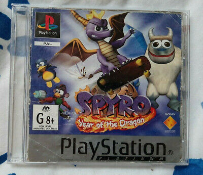Replacement Manual + Front Cover Spyro the Dragon: Year of the Dragon - NO GAME