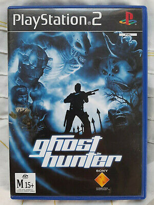 Replacement Case and Manual Ghost Hunter Sony PS2 AUS PAL - NO GAME
