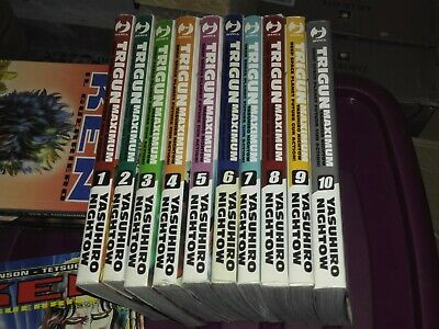 Trigun Maximum 1 2 3 4 5 6 7 8 9 10 - Sequenza Completa - Serie Jpop Manga