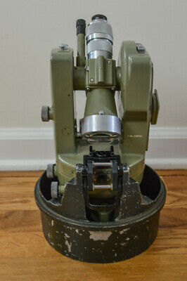 Wild Heerbrugg Theodolite Switzerland T16 Survey Equipment with 2 carrying cases