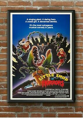 Little Shop Of Horrors Classic 1980's Movie Film Poster Print Picture A3 A4 A5