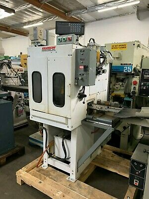 "Kalamazoo K12-14Ms 14"" Abrasive Metallurgical Cutoff Saw W/ Dro, Feeder"