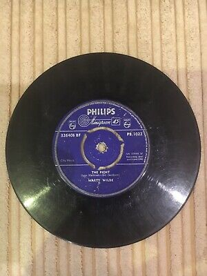 "Johnny At The Crossroads/The Fight Marty Wilde UK 7"" vinyl single record"
