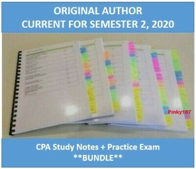 CPA FR Financial Reporting HD study notes 2020