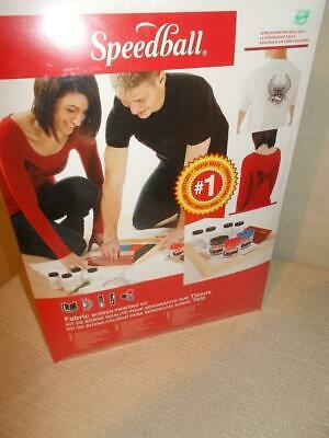 Speed Ball Fabric Screen Printing Kit 4526 (see pictures)