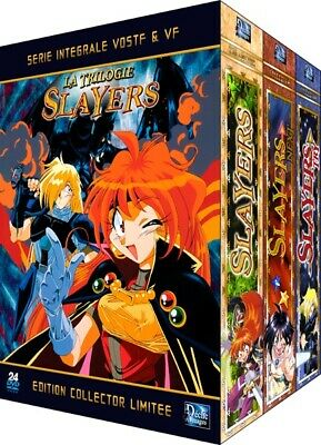 ★Slayers ★Intégrale TV + Films Collector Pack 24 DVD