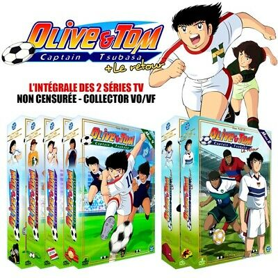★ Olive et Tom (Captain Tsubasa) ★ Intégrale Collector - Pack 34 DVD