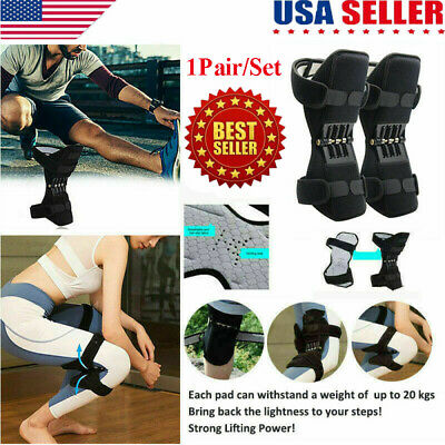 Power Lift Knee Stabilizer Pads Powerful Rebound Spring Force Support Knee Pad