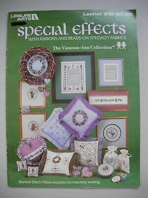 Special Effects - Leisure Arts - Cross Stitch Pattern Book - Samplers