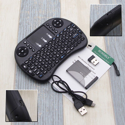Mini Wireless Keyboard i8 2.4G Multi Air Mouse Touchpad For PC Android TV Box